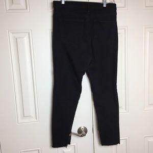 GAP High Rise Skinny Jeans Raw Hem Size 8 J8